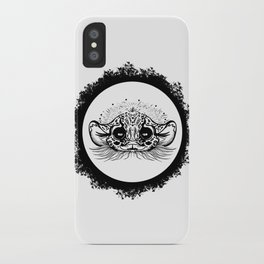 Half Cute Wild Cat iPhone Case