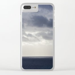 Out of the Blue Clear iPhone Case