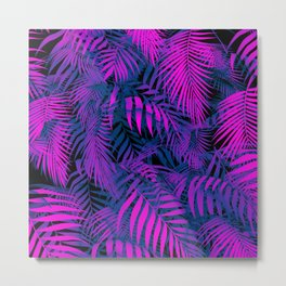 Primeval PURPLE Metal Print