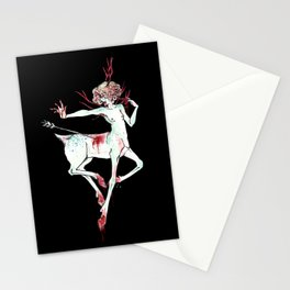 hunter hunted Stationery Cards
