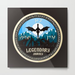 Legendary Journey Metal Print