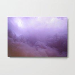 Ultraviolet color theme Metal Print