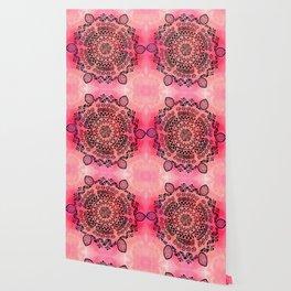 Pink Galaxy Mandala Wallpaper