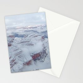 Winter and Snow at the Grand Canyon Stationery Cards