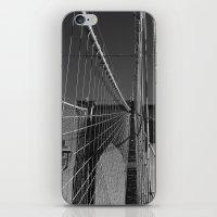 brooklyn bridge iPhone & iPod Skins featuring Brooklyn Bridge by Brooke Ryan Photography