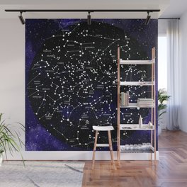 Celestial Map - Northern Hemisphere  Wall Mural
