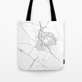 Minimal City Maps - Map Of Salinas, California, United States Tote Bag