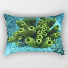 underwater beauty Rectangular Pillow