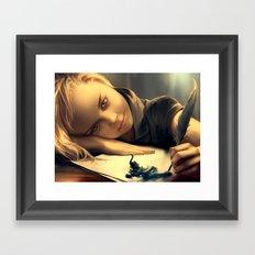 Il cigno nero Framed Art Print