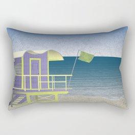 Lifeguard Platform Rectangular Pillow