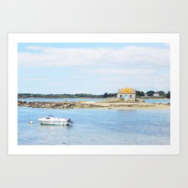 194. House of Water, France Art Print