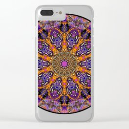 Mandala design t shir Clear iPhone Case