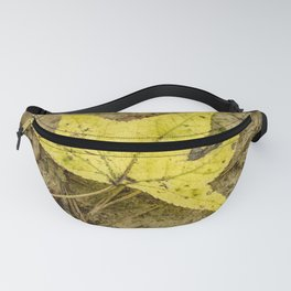 The Yellow Leaf Fanny Pack
