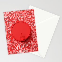 Lyrics & Type - ArcticMonkeys Stationery Cards