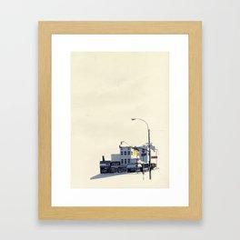 East Village  Framed Art Print