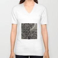 marina and the diamonds V-neck T-shirts featuring - marina - by Magdalla Del Fresto
