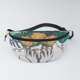 Pineapples are in my head Fanny Pack