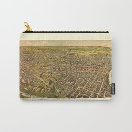 Map Of Fort Worth 1891 Carry-All Pouch