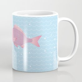 Snapper and wave Coffee Mug