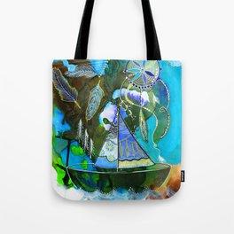 The Dream Boat Tote Bag