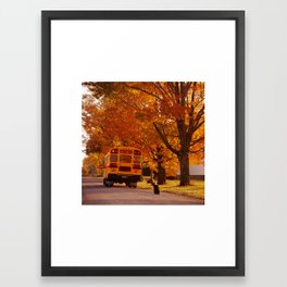 Good Bye Friend Framed Art Print