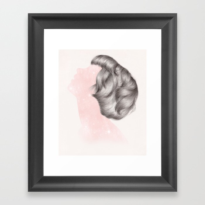 Cosmic Wonder III Framed Art Print