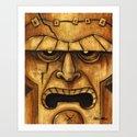 TIKI Frankenstein by artofcm