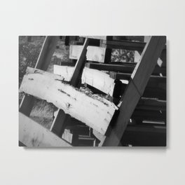Slow Decay Metal Print