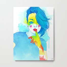 Colorful Kaya Metal Print
