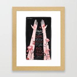 Psoriasis I Framed Art Print