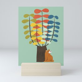Shady Tree Mini Art Print