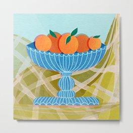 New Oranges Metal Print