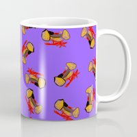 motorcycle Mugs featuring Motorcycle by WeKids Design