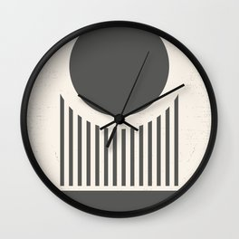 Mid Century Modern Geometry Wall Clock
