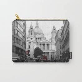 London Town city,St Paul Cathedral decor. Carry-All Pouch