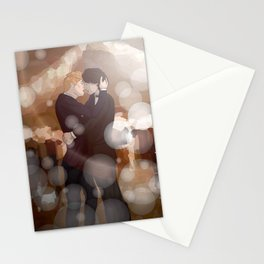 Dancing Snowbaz Stationery Cards
