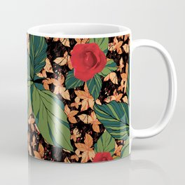 rose with dandelion - variant Coffee Mug