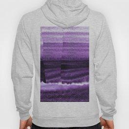 Violet Escape Watercolor Hoody