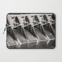 Industrial Dam Structure Laptop Sleeve