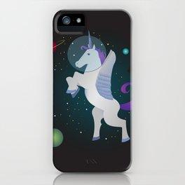 Space Pegacorn iPhone Case