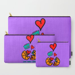 LOVEMUSICHOOPS Carry-All Pouch