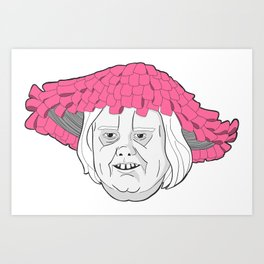 Momma Baskets Art Print