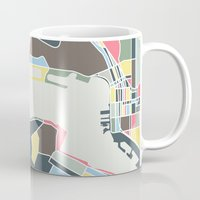san diego Mugs featuring San Diego by Studio Tesouro
