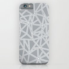 Shattered Ab Grey and White  Slim Case iPhone 6s