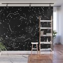 Constellation Map - Black by mmerlin