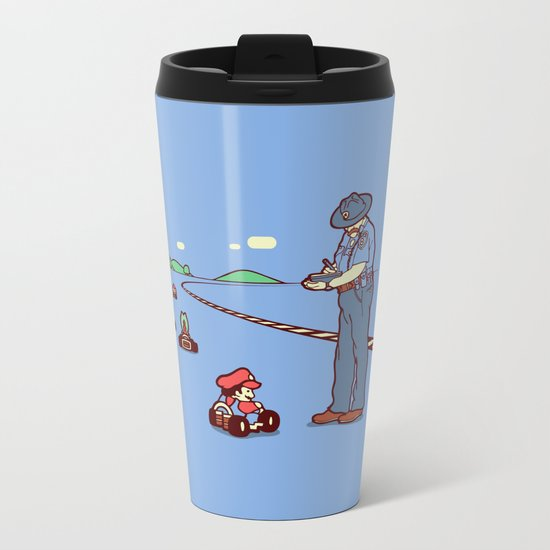 80 MPH Metal Travel Mug
