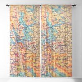 Globe Sheer Curtain