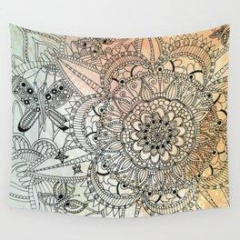 Butterfly Mandala Wall Tapestry