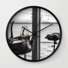 Lake House Drink Wall Clock
