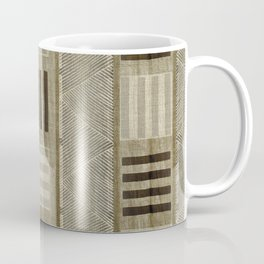"""Ethnic Pattern Natural Color"" Coffee Mug"